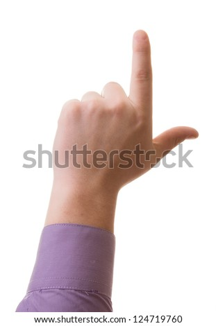 Hand, the index finger