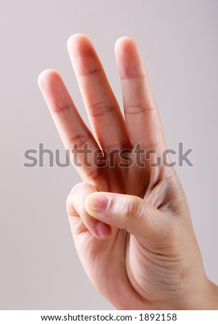 hand-three