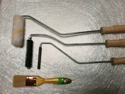 Hand tool for fiber glass production