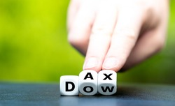Hand turns dice and changes the abbreviation