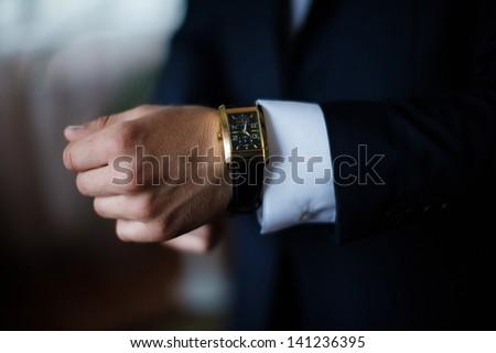 hand & watch