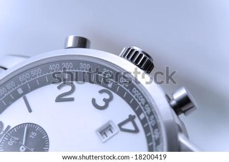 hand watch detail closeup
