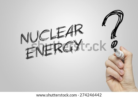 Nuclear energy in simple writing