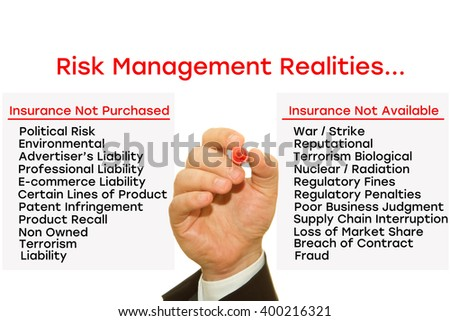 Risk Management and Insurance writer professional
