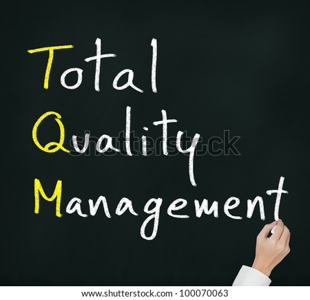 tqm contributor Tqm is a company wide management approach to achieving long-term success  with a strong focus on customer satisfaction tqm depends on the participation.