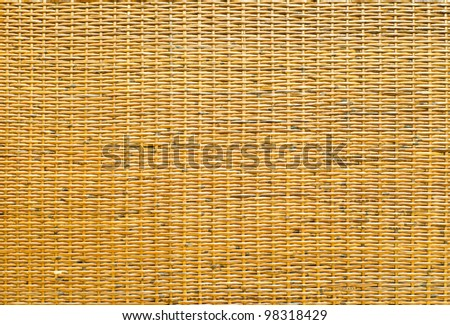 handcraft weave texture natural bamboo