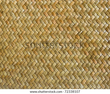 handcraft weave texture natural wicker