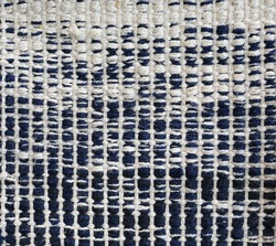 Handcrafted flat weave cotton rugs