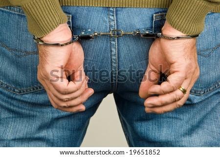 Handcuffs - symbol for crime