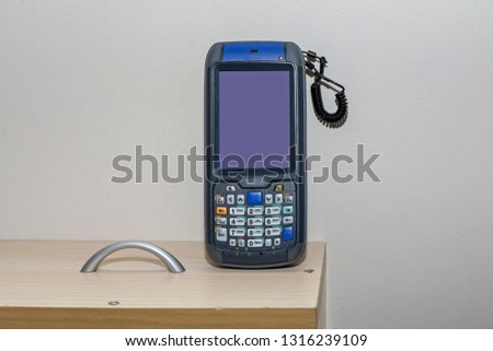 Handheld Barcode Scanner and Rfid Reader Portable Wireless Device #1316239109
