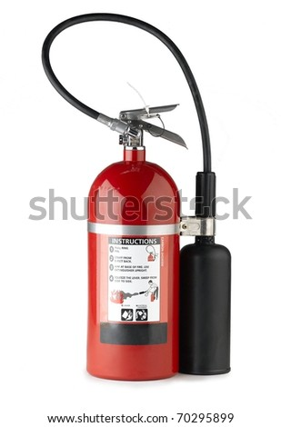 Handheld fire extinguisher more portable and convenience to use