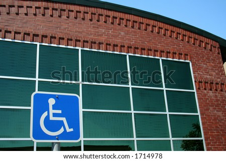 handicap office building access