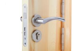 handle and keyhole detail Door lock