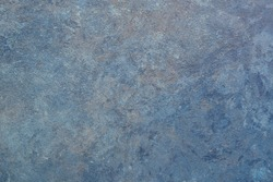 Handmade background and texture, soft marbled abstract design, smoke style, in combination of blue and gray colors, different shades, hues, tints and tones.