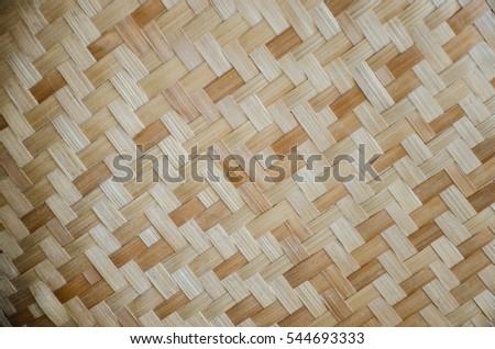 Handmade Bamboo Craft Weave Decor Design Texture And Wallpaper Ez