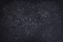 handmade black and white photography backdrop, empty, acrylic painted, full frame background texture, top down view