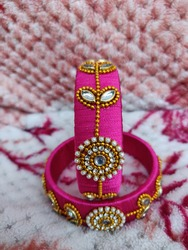 Handmade Elegant Fashion Silk Thread Jewelry Costume Bangles || Traditional Handmade Jewelry bangles with elegant design suitable for wearing in all type of Occasions.