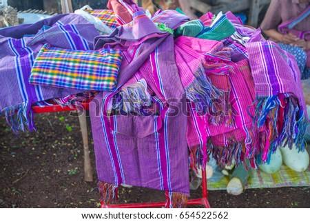 Handmade handbags from Thailand #654522562