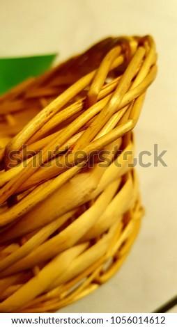 Handmade handmade basket typical of El Salvador. #1056014612