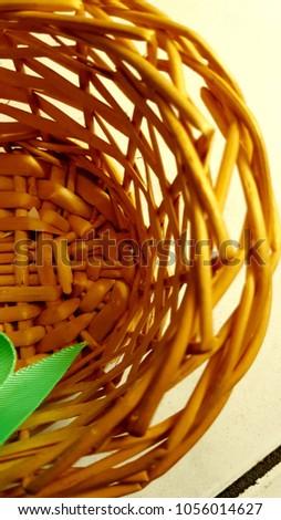 Handmade handmade basket typical of El Salvador. #1056014627
