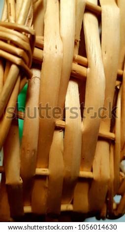 Handmade handmade basket typical of El Salvador. #1056014630