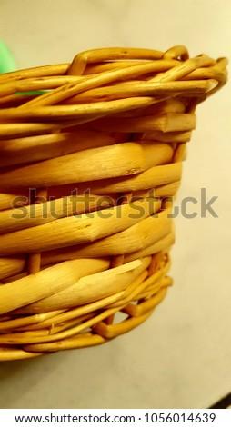 Handmade handmade basket typical of El Salvador. #1056014639