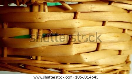 Handmade handmade basket typical of El Salvador. #1056014645