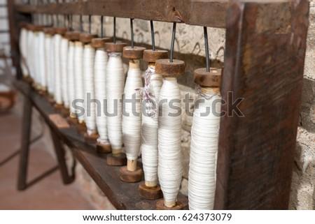 handmade hemp processing for...