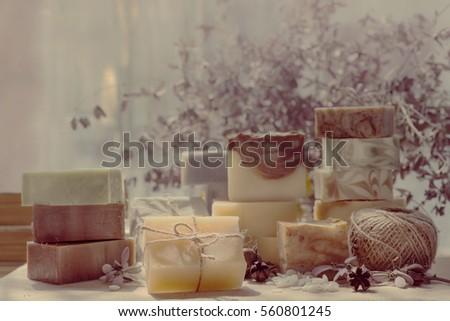 handmade natural cold process soaps