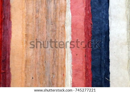 handmade paper - manufacturer by old technologies #745277221