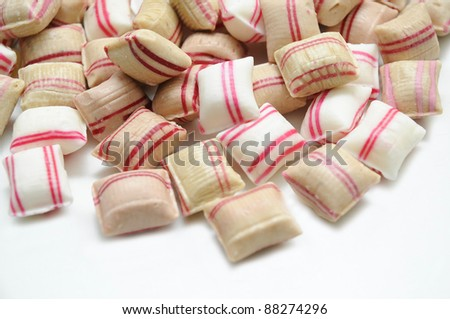 Handmade Peppermint candy.