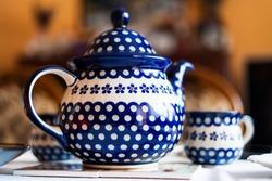 Handmade pottery produced in Boleslawiec