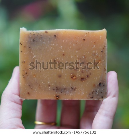 Handmade soap. Cold process soap.
