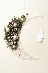 Handmade soft toys, Christmas tree decorations, Christmas gifts, love story, thread toys.
