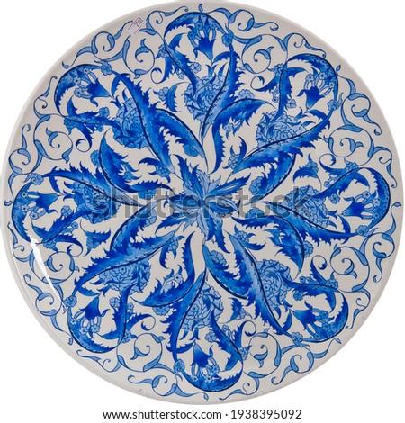handmade .. tile work fayan old work Stok fotoğraf ©