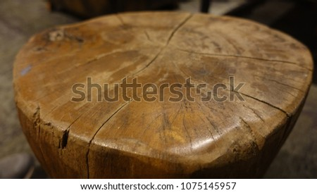handmade wood table #1075145957