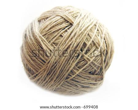 handmade woolen yarn (not washed)