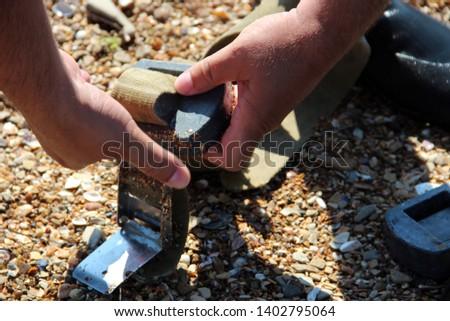 Hands and Diving Belt, Diving equipment #1402795064