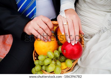 hands and rings on wedding.hold me, trust me, marry me today !