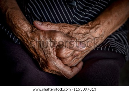 hands are old