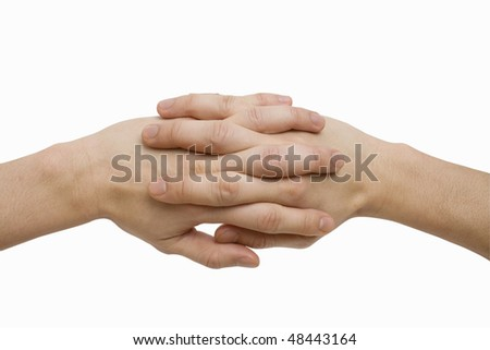 Hands Joined - stock photo