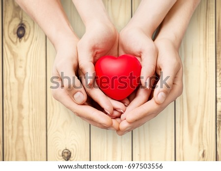 hands on heart #697503556