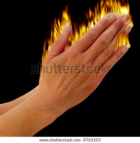 pictures of hands praying. stock photo : Hands praying