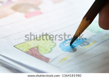 Hands Production for Movie Storyboard drawing creative for movies process pre-production media films script for video editors, development cartoon illustration animation for production shooting