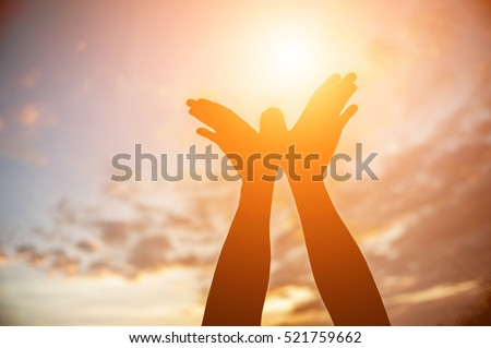 hands-shape for the Sun.