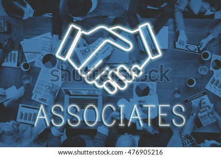 Handshake Deal Agreement Corporate Business Concept #476905216