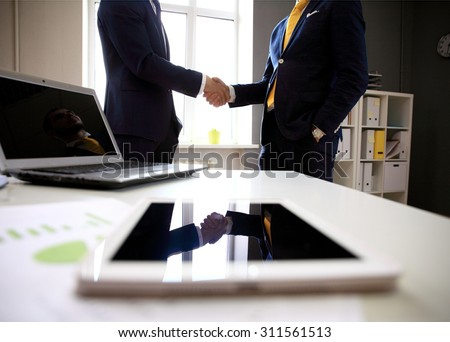 handshake in office #311561513