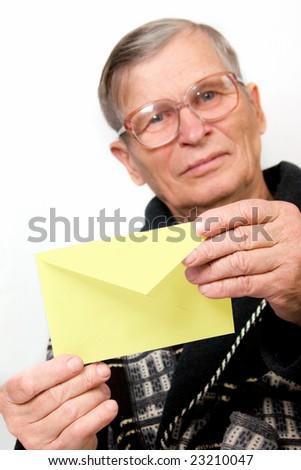 sending a letter format envelope. Letter+envelope+format