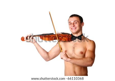 handsome guy shirtless