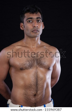 Hairy muscle indian